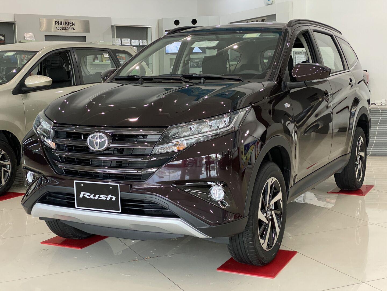 """Các dòng xe SUV của Toyota """"Gạch nối hoàn hảo mang tên Rush"""""""