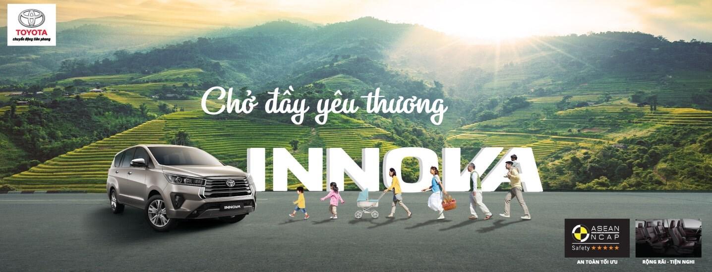 Đánh giá xe Toyota Innova 2021 – Thay đổi nhỏ vì mục tiêu lớn